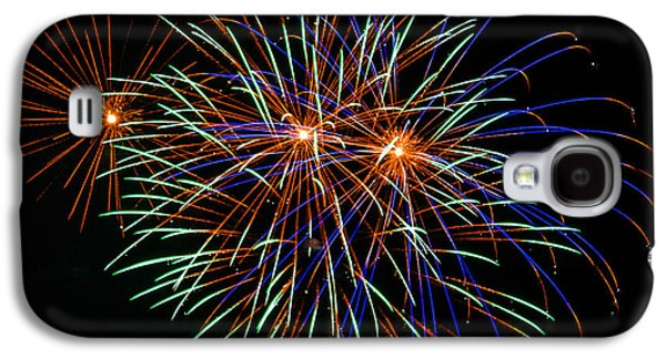 4th July Galaxy S4 Cases - 4th of July Fireworks 22 Galaxy S4 Case by Howard Tenke