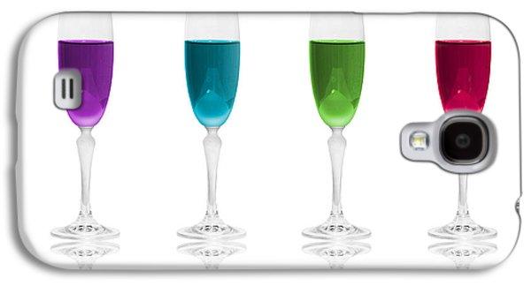 Enjoying Galaxy S4 Cases - Multi Color Simplicity Galaxy S4 Case by Erik Brede