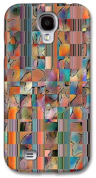 Multicolored Fractured Reality Galaxy S4 Case by Ben and Raisa Gertsberg