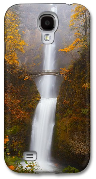 Landscape Metal Prints Galaxy S4 Cases - Multnomah Morning Galaxy S4 Case by Darren  White