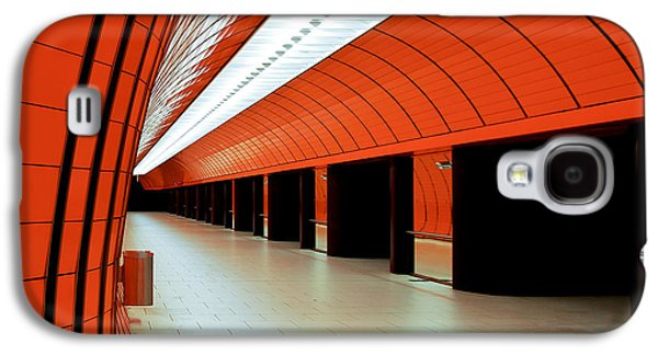 Bahn Galaxy S4 Cases - Munich subway I Galaxy S4 Case by Hannes Cmarits