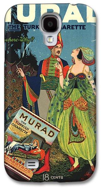 Digital Galaxy S4 Cases - Murad Antique Ad Galaxy S4 Case by Gary Grayson