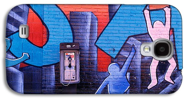 Mural Photographs Galaxy S4 Cases - Mural, Nyc, New York City, New York Galaxy S4 Case by Panoramic Images