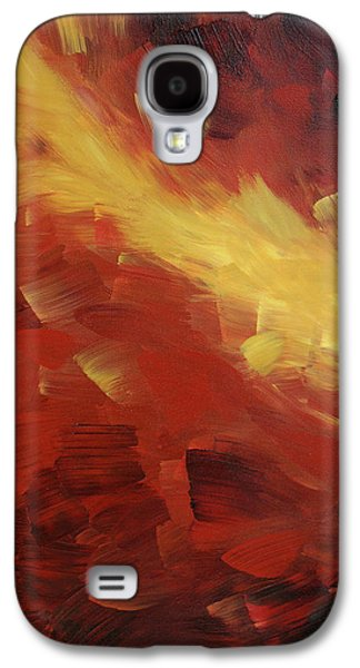 Earth Tones Galaxy S4 Cases - Muse In The Fire 1 Galaxy S4 Case by Sharon Cummings