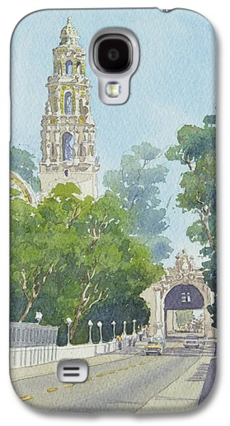Museum Paintings Galaxy S4 Cases - Museum of Man Balboa Park Galaxy S4 Case by Mary Helmreich