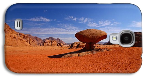 Jordan Photographs Galaxy S4 Cases - Mushroom Rock Galaxy S4 Case by FireFlux Studios