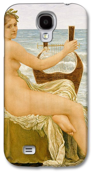 Lute Paintings Galaxy S4 Cases - Music Galaxy S4 Case by Henry Holiday
