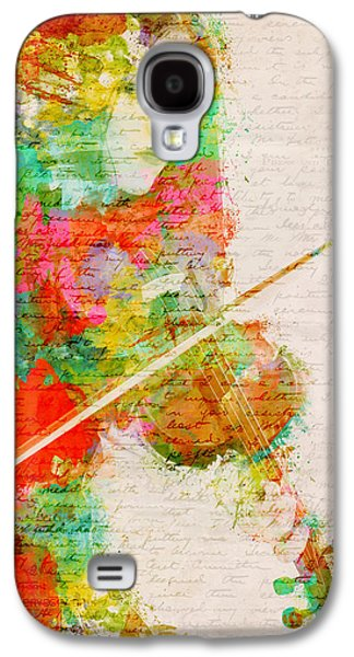 Gypsy Galaxy S4 Cases - Music In My Soul Galaxy S4 Case by Nikki Smith