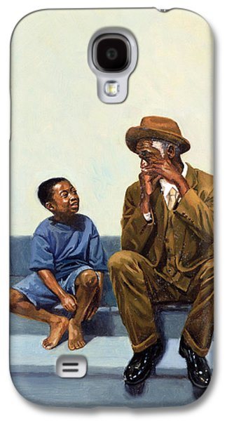 Lessons Galaxy S4 Cases - Music Lesson Number 2 Galaxy S4 Case by Colin Bootman