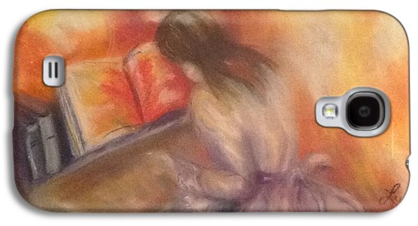 Piano Pastels Galaxy S4 Cases - Music Galaxy S4 Case by Luanne Rozran