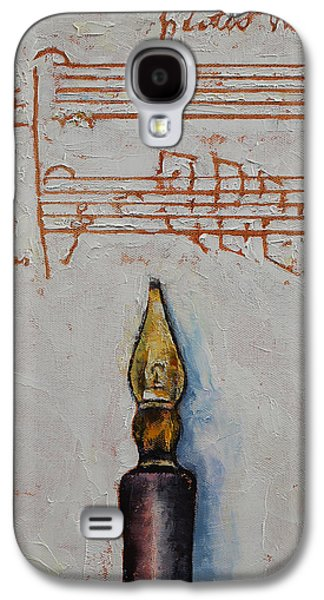 Music Galaxy S4 Case by Michael Creese