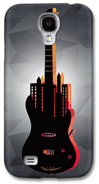 Animation Galaxy S4 Cases - music NYC  Galaxy S4 Case by Mark Ashkenazi