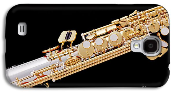 Music Photograph Of Soprano Saxophone In Color 3341.02 Galaxy S4 Case by M K  Miller