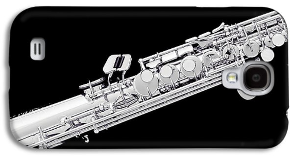 Music Photograph Of Soprano Saxophone In Sepia 3341.01 Galaxy S4 Case by M K  Miller