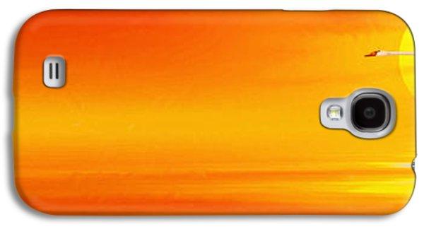 Mute Sunset Galaxy S4 Case by John Edwards