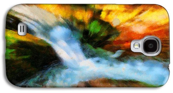 Comfort Paintings Galaxy S4 Cases - My Cup Runneth Over Galaxy S4 Case by Dan Sproul