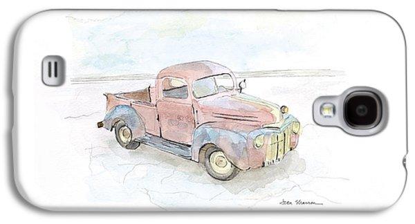 My Favorite Truck Galaxy S4 Case by Joan Sharron