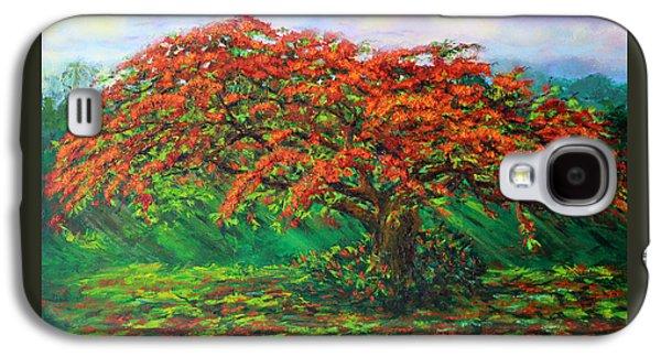 My Flamboyant Tree Galaxy S4 Case by Estela Robles Galiano