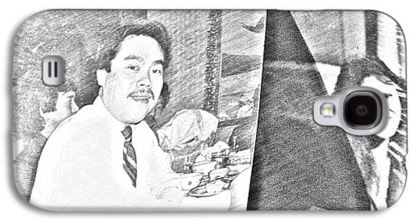 Etc. Digital Art Galaxy S4 Cases - My Husband Kelly Passed Away Dec 1988 Galaxy S4 Case by HollyWood Creation By linda zanini