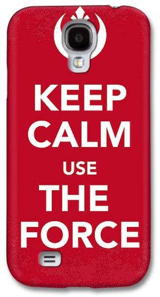Dark Digital Galaxy S4 Cases - My Keep Calm Star Wars - Rebel Alliance-poster Galaxy S4 Case by Chungkong Art