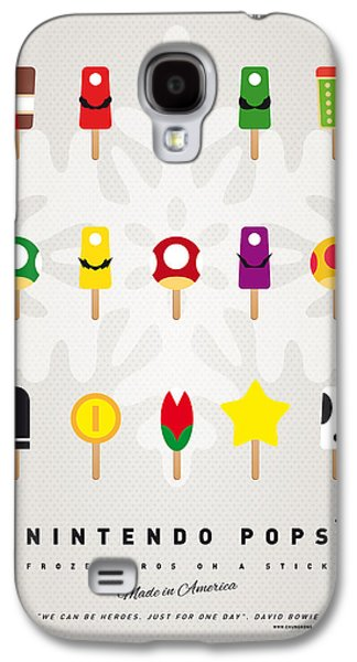 Kids Books Galaxy S4 Cases - My MARIO ICE POP - UNIVERS Galaxy S4 Case by Chungkong Art