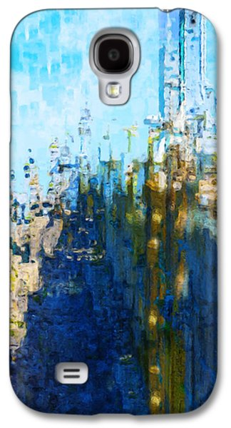 Painter Photo Galaxy S4 Cases - My Midtown Tomorrow Galaxy S4 Case by Jack Zulli