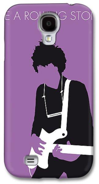 Stone Digital Galaxy S4 Cases - No001 MY BOB DYLAN Minimal Music poster Galaxy S4 Case by Chungkong Art