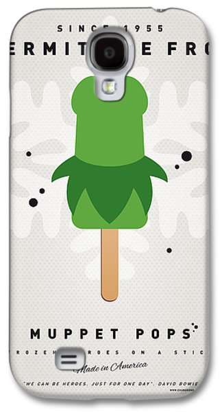 My Muppet Ice Pop - Kermit Galaxy S4 Case by Chungkong Art