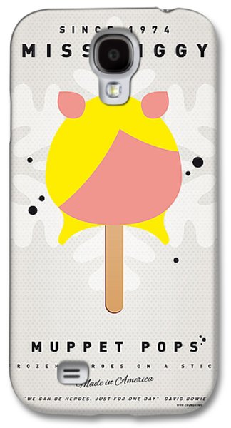 Kids Books Galaxy S4 Cases - My MUPPET ICE POP - Miss Piggy Galaxy S4 Case by Chungkong Art