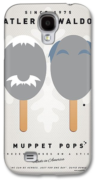 Kids Books Galaxy S4 Cases - My MUPPET ICE POP - Statler and Waldorf Galaxy S4 Case by Chungkong Art