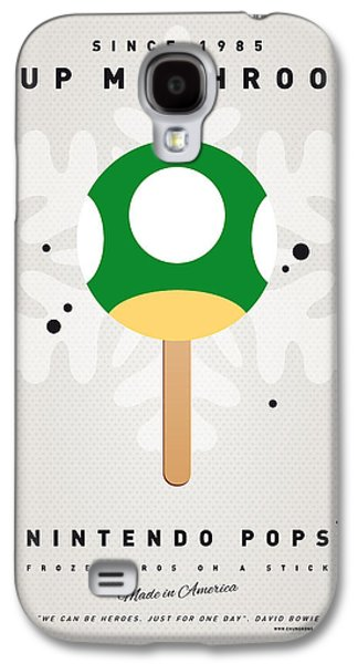 Kids Books Galaxy S4 Cases - My NINTENDO ICE POP - 1 up Mushroom Galaxy S4 Case by Chungkong Art