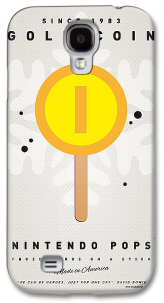 Piranha Galaxy S4 Cases - My NINTENDO ICE POP - Gold Coin Galaxy S4 Case by Chungkong Art