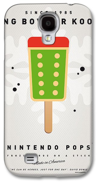 Piranha Galaxy S4 Cases - My NINTENDO ICE POP - King Bowser Galaxy S4 Case by Chungkong Art