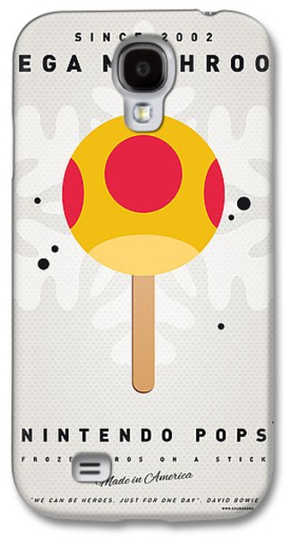 Piranha Galaxy S4 Cases - My NINTENDO ICE POP - Mega Mushroom Galaxy S4 Case by Chungkong Art