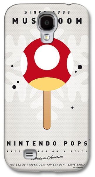 Kids Books Galaxy S4 Cases - My NINTENDO ICE POP - Mushroom Galaxy S4 Case by Chungkong Art