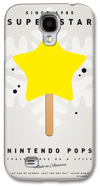 Piranha Galaxy S4 Cases - My NINTENDO ICE POP - Super Star Galaxy S4 Case by Chungkong Art