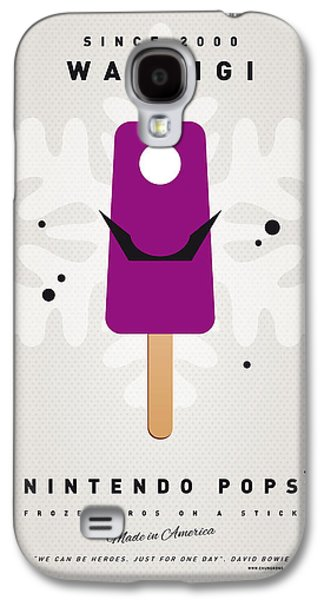 Peaches Galaxy S4 Cases - My NINTENDO ICE POP - Waluigi Galaxy S4 Case by Chungkong Art
