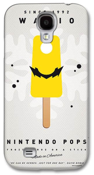 Peaches Galaxy S4 Cases - My NINTENDO ICE POP - Wario Galaxy S4 Case by Chungkong Art
