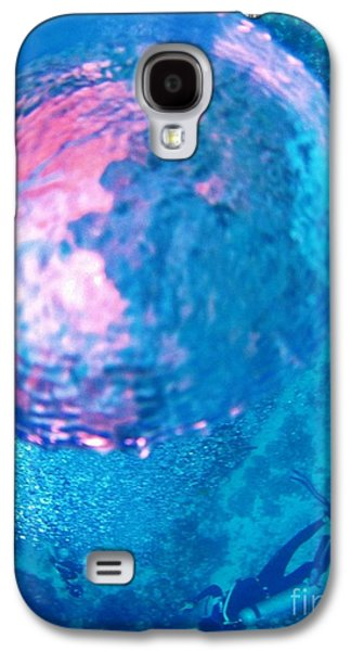 Fish On A Reef Galaxy S4 Cases - My Reflection in a Divers Bubble Galaxy S4 Case by John Malone