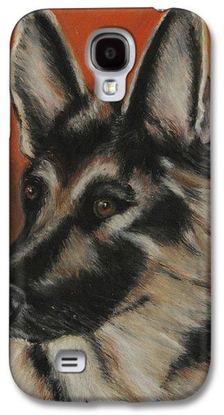 Puppies Galaxy S4 Cases - My Sadie Galaxy S4 Case by Jeanne Fischer