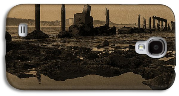 My Ocean Galaxy S4 Cases - My Sea Of Ruins III Galaxy S4 Case by Marco Oliveira
