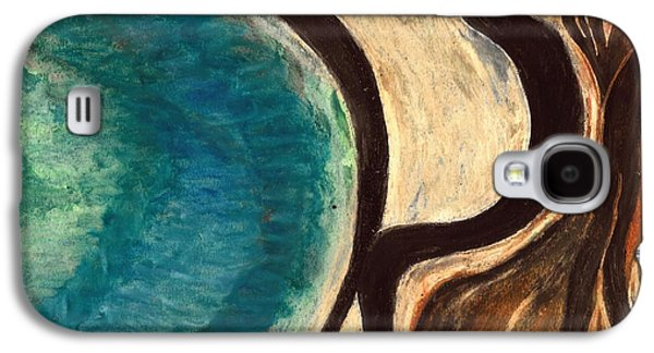 Abstract Seascape Pastels Galaxy S4 Cases - My Seascape I Galaxy S4 Case by Carla Sa Fernandes