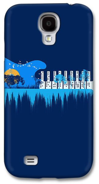 Sound Digital Galaxy S4 Cases - My sound world Galaxy S4 Case by Neelanjana  Bandyopadhyay