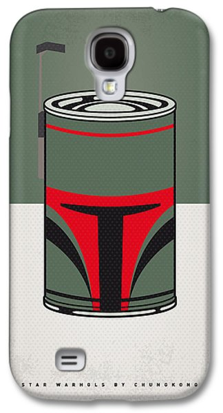 My Star Warhols Boba Fett Minimal Can Poster Galaxy S4 Case by Chungkong Art