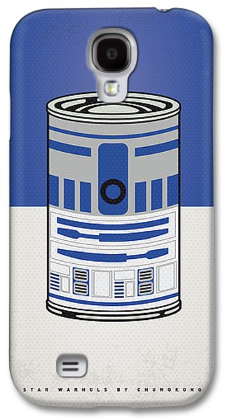 My Star Warhols R2d2 Minimal Can Poster Galaxy S4 Case by Chungkong Art