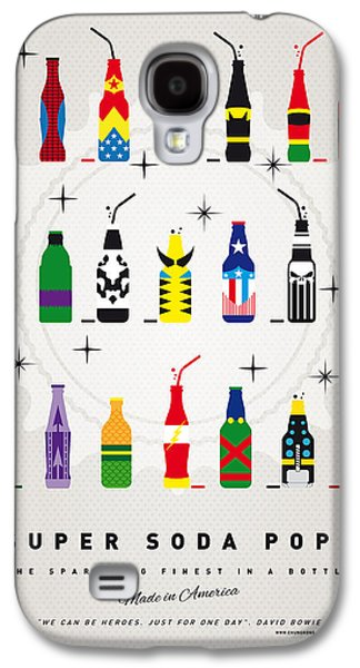Poster Galaxy S4 Cases - My SUPER SODA POPS No-00 Galaxy S4 Case by Chungkong Art