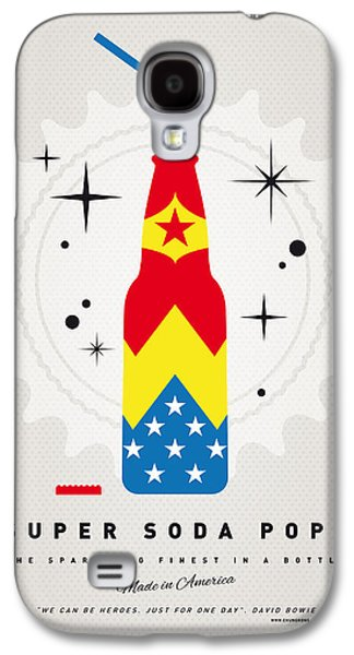 Super Powers Galaxy S4 Cases - My SUPER SODA POPS No-04 Galaxy S4 Case by Chungkong Art