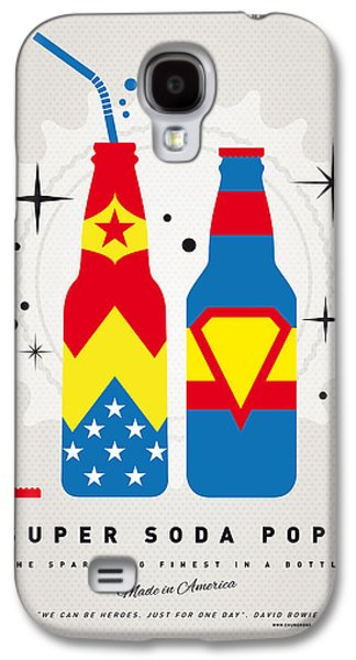 Super Powers Galaxy S4 Cases - My SUPER SODA POPS No-06 Galaxy S4 Case by Chungkong Art