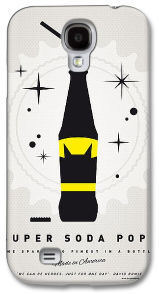 Super Powers Galaxy S4 Cases - My SUPER SODA POPS No-07 Galaxy S4 Case by Chungkong Art