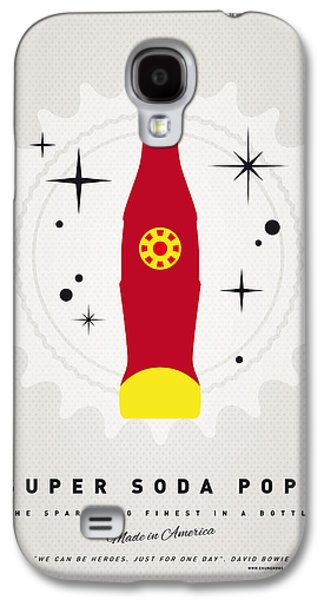 Super Powers Galaxy S4 Cases - My SUPER SODA POPS No-09 Galaxy S4 Case by Chungkong Art